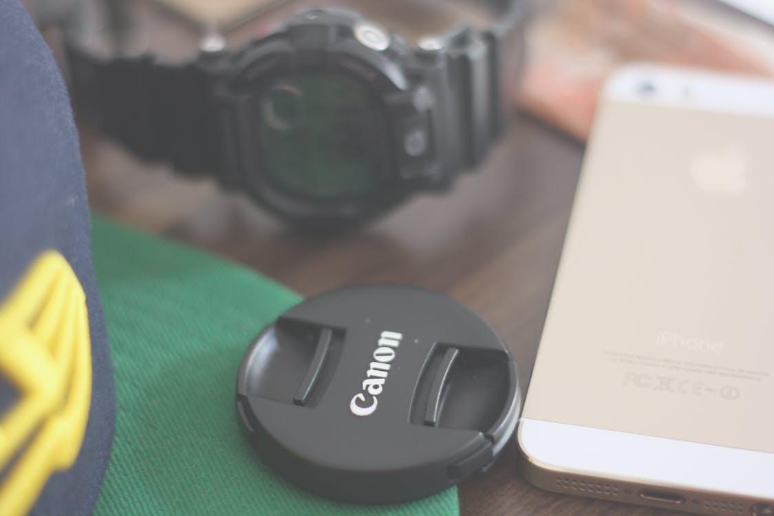 chytrý telefon, hloubka ostrosti, iphone