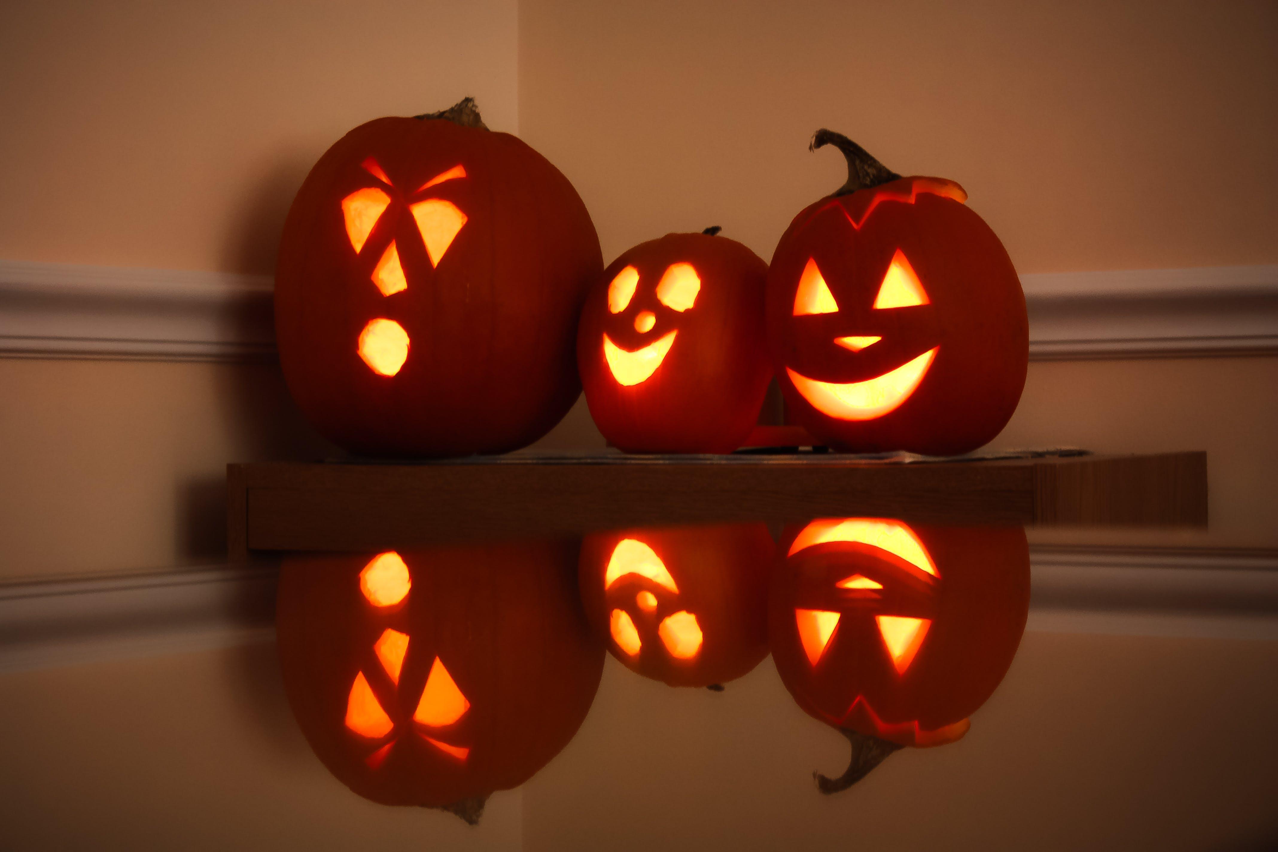 Imagine de stoc gratuită din dovleac, felinar din dovleac, hallowee