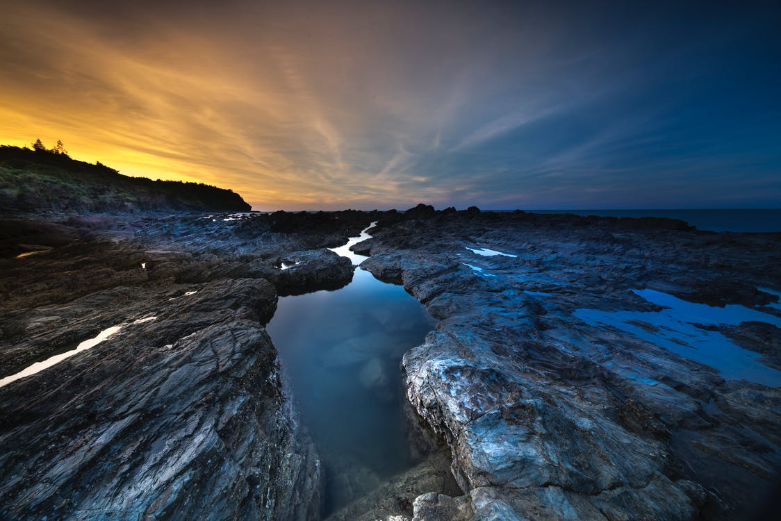 acqua, alba, ambiente