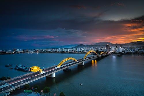 Kostnadsfri bild av 4k tapeter, arkitektur, bro, byggnader