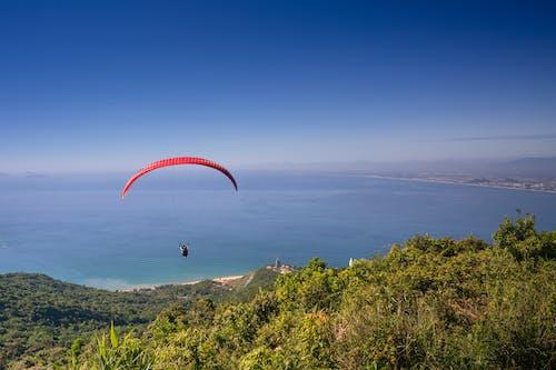 パラシュート, ビーチ, 冒険, 島の無料の写真素材
