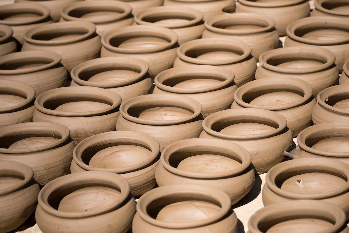 Brown Ceramic Pots