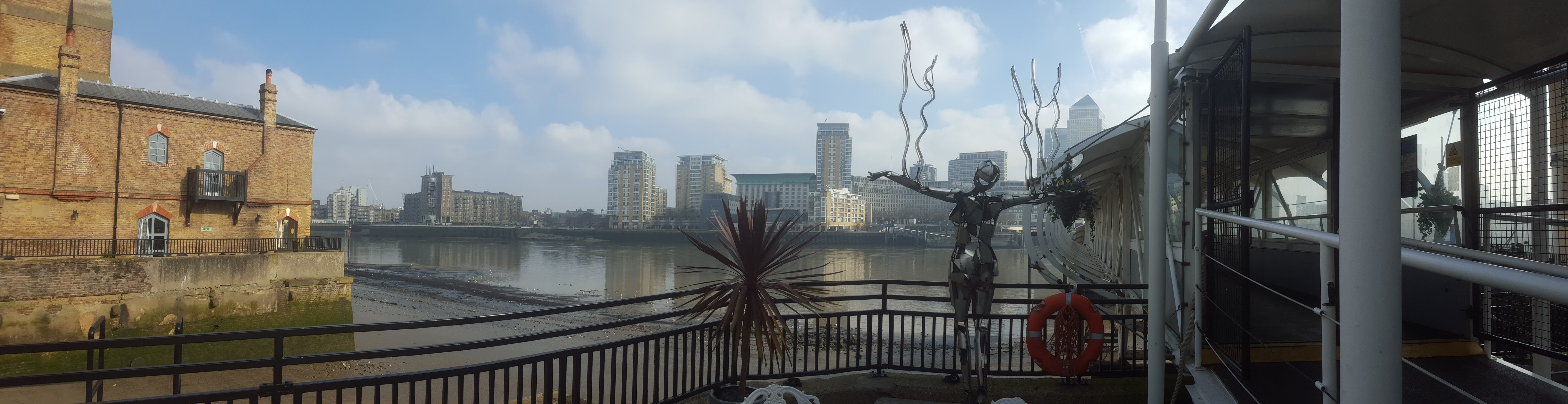Free stock photo of building, london, river, statue