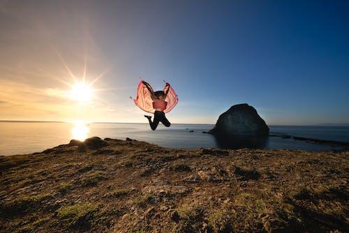 Photos gratuites de bord de mer, caillou, ciel, côte