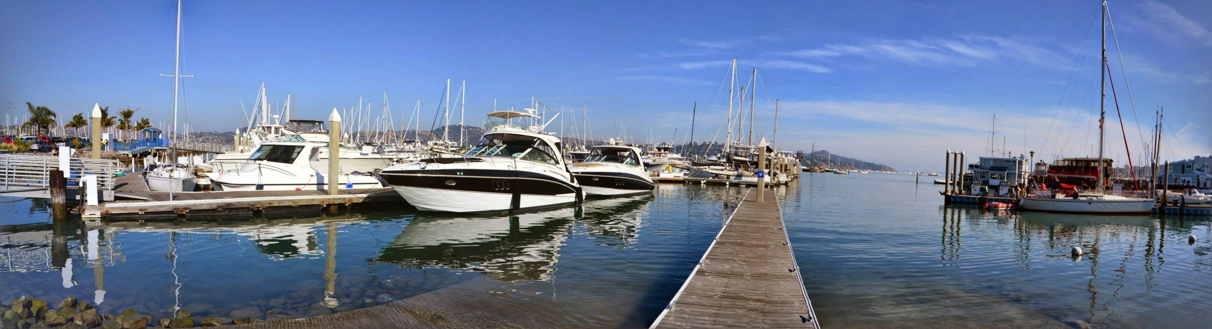 Free stock photo of boat, boat deck, dock, marina