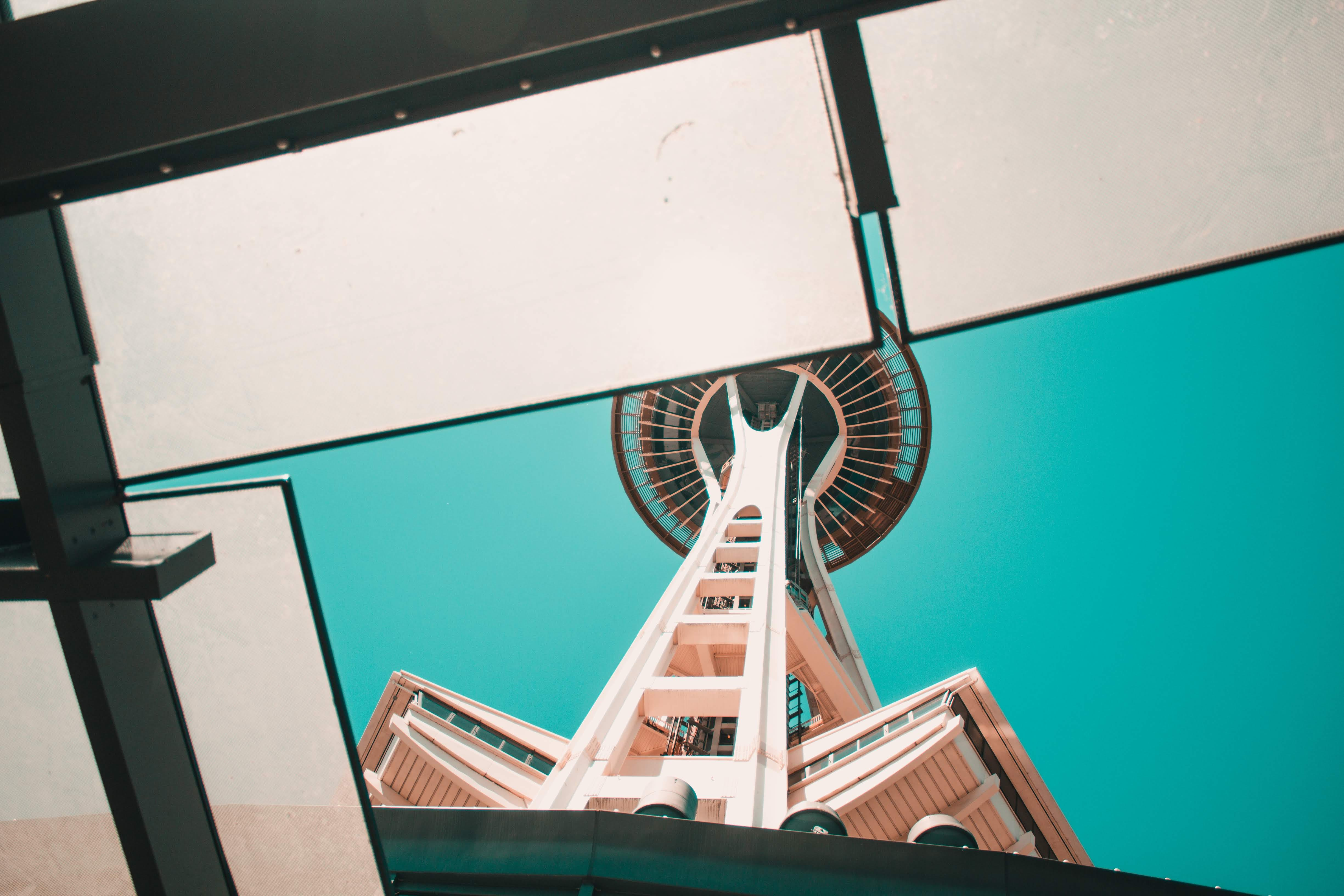 Free stock photo of architectural, architecture, seattle, seattle space needle