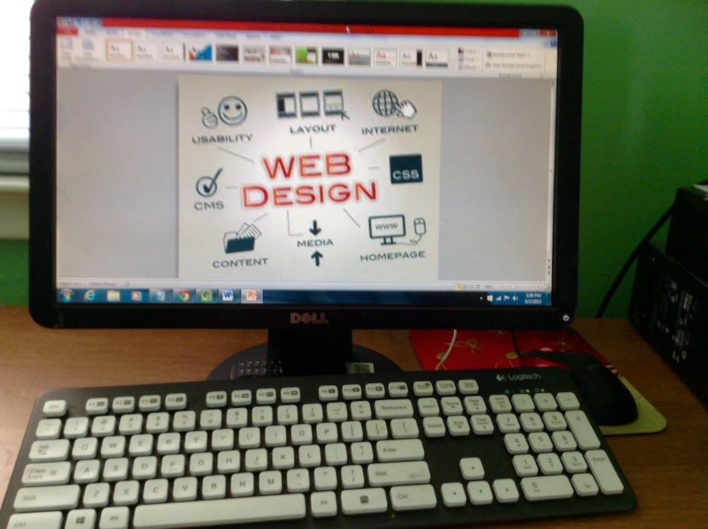 Free stock photo of web design