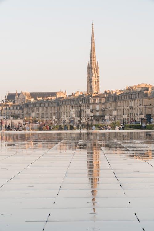 a l'aire lliure, aigua, arquitectura