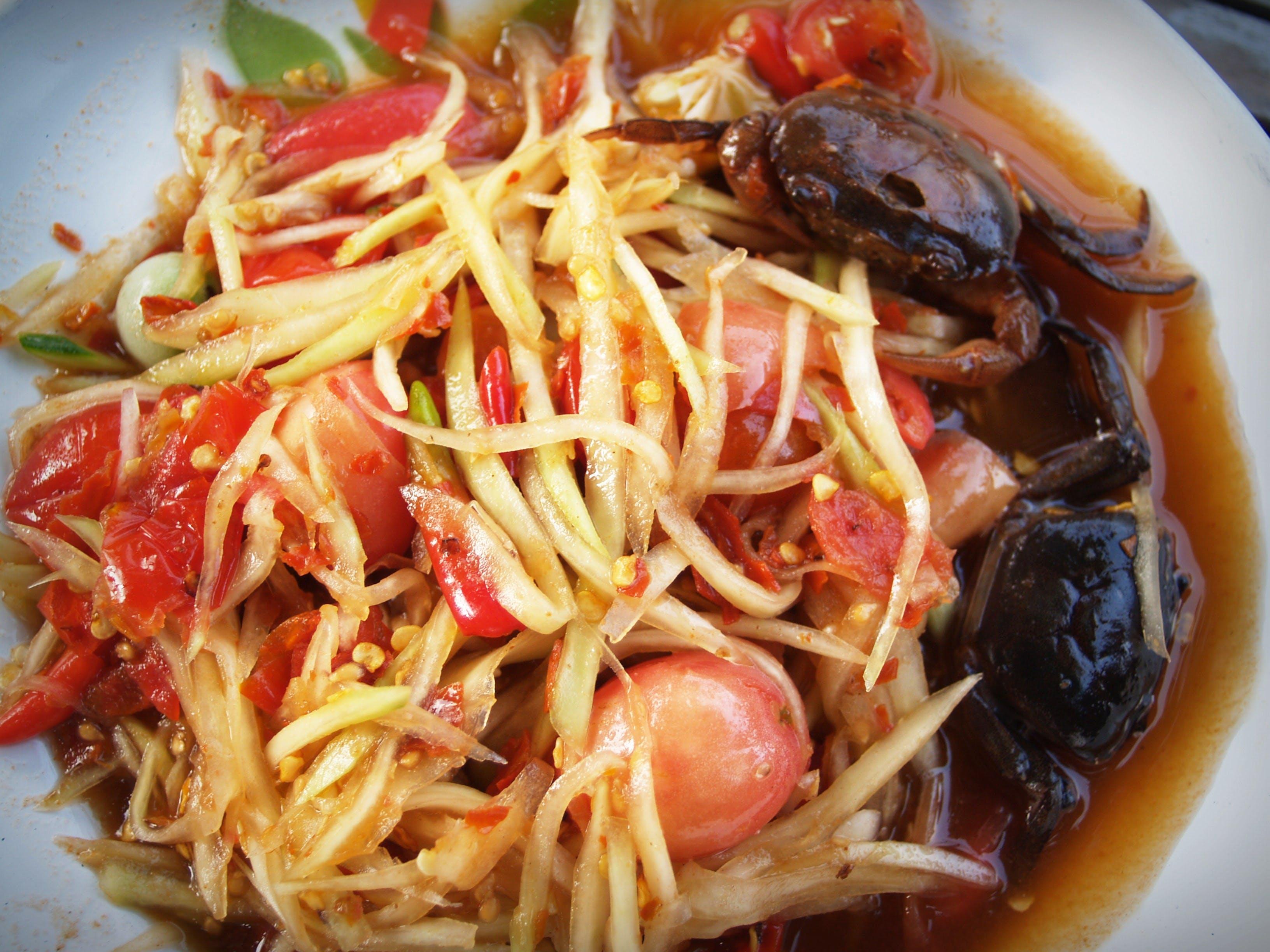 Plate Crab Dish