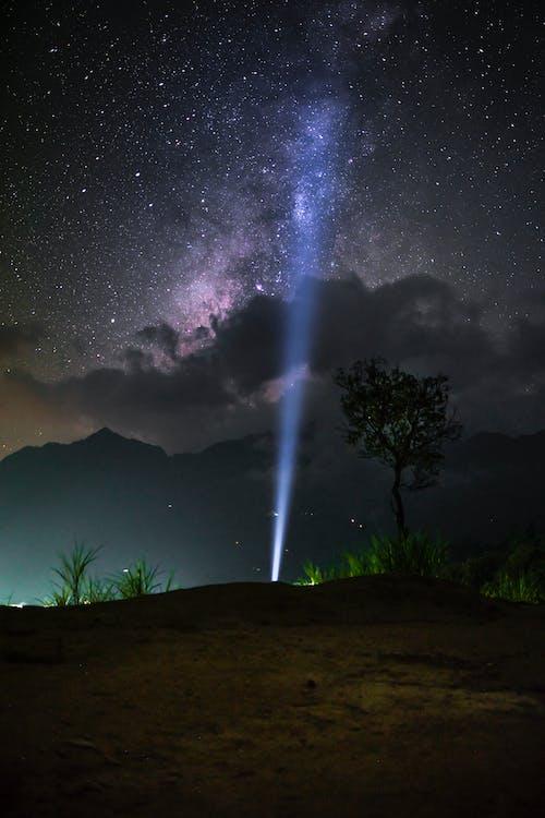 光, 光線, 勘探, 天文學 的 免費圖庫相片
