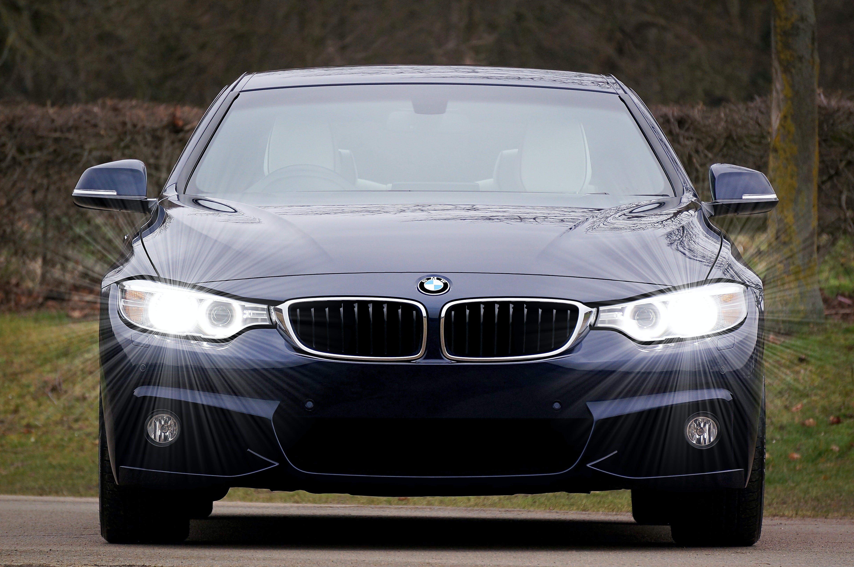 Бесплатное стоковое фото с BMW, гриль, фары