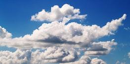 light, sky, clouds