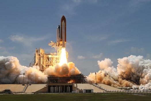 Free stock photo of flight, sky, space, explosion