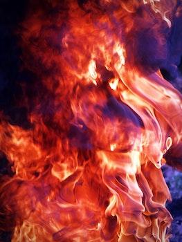 Free stock photo of fire, orange, flame, background