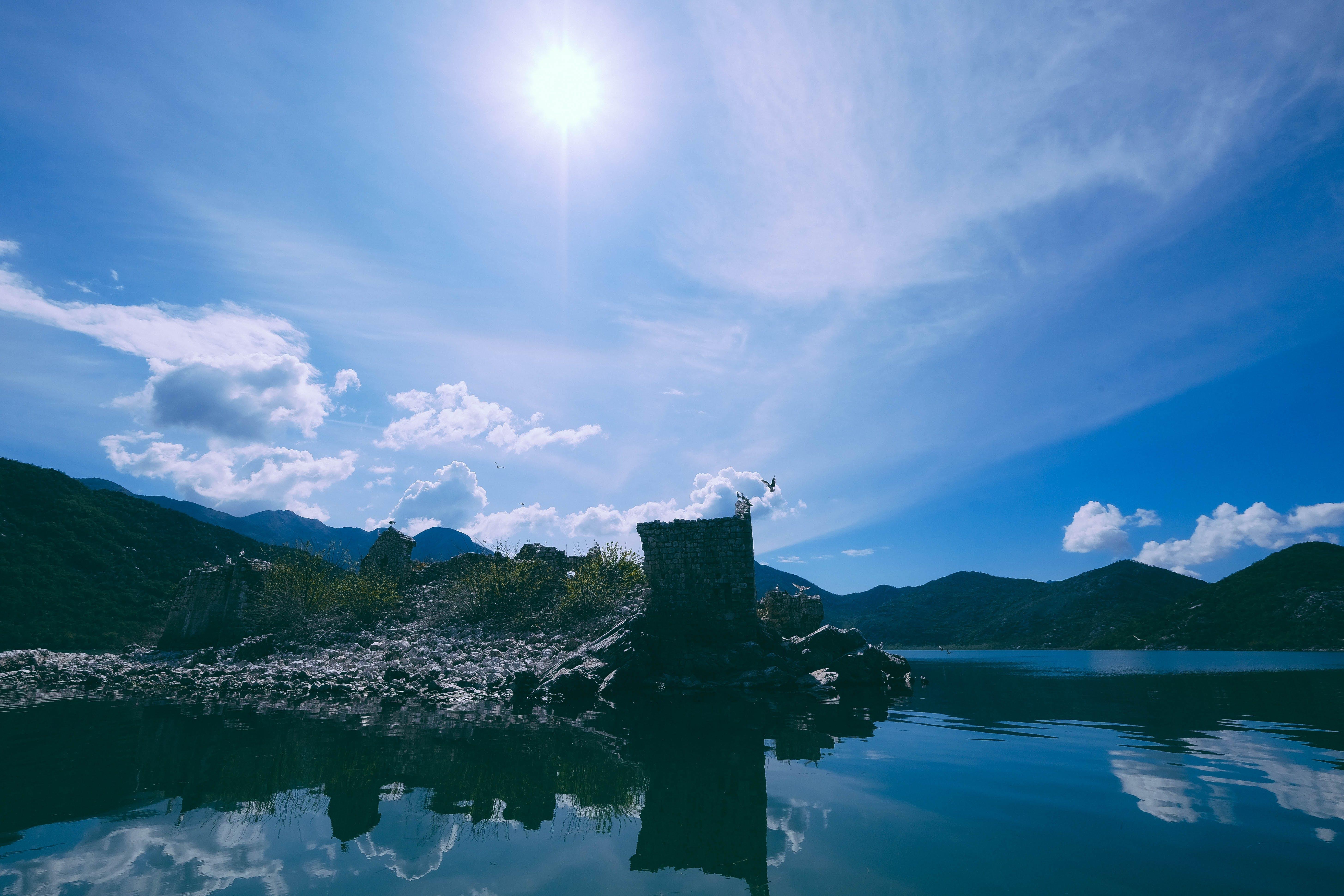 Free stock photo of birds, blue, lake, Montenegro