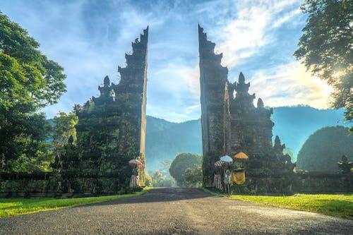 Fotobanka sbezplatnými fotkami na tému architektonický dizajn, architektúra, ázijská architektúra, Bali
