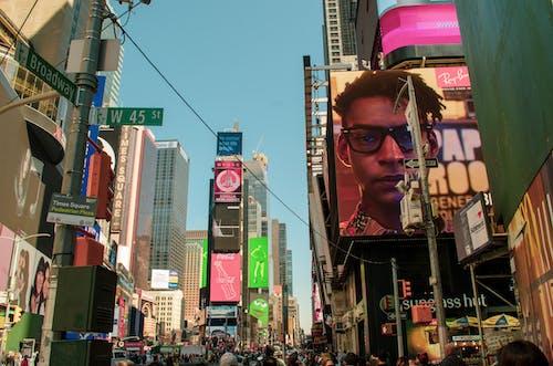 Imagine de stoc gratuită din afaceri, arhitectură, Broadway