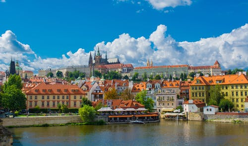 Free stock photo of colourful, prague, river
