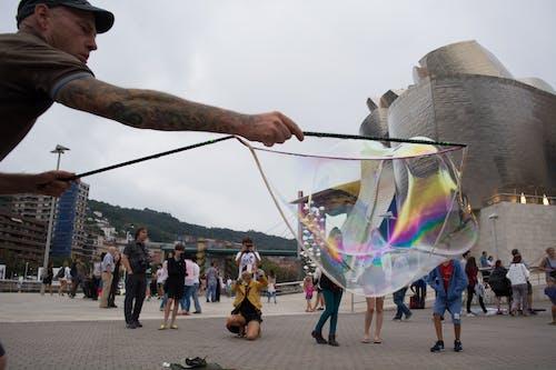 Free stock photo of soap bubble