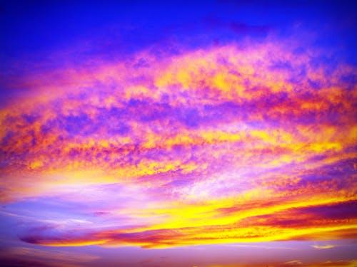 Foto d'estoc gratuïta de alba, bonic, cel, ennuvolat