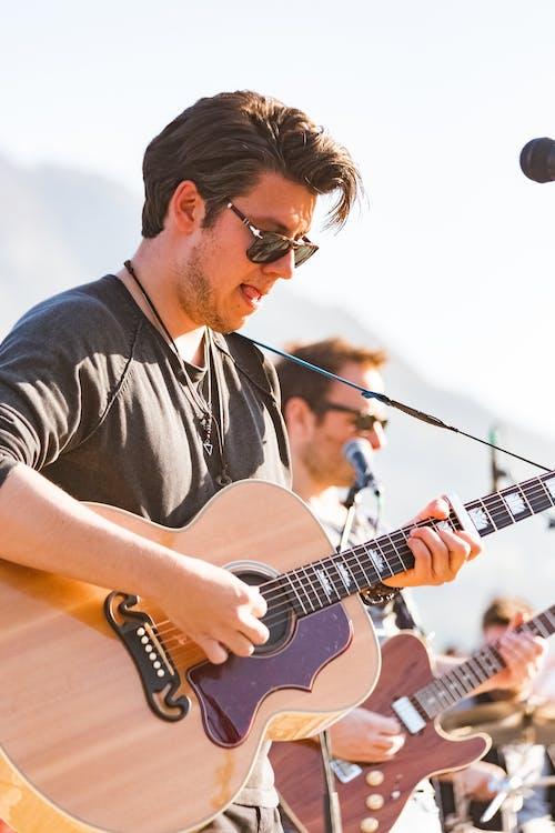 事件, 吉他, 吉他手, 唱歌 的 免費圖庫相片