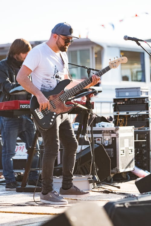 ääni, bändi, energia