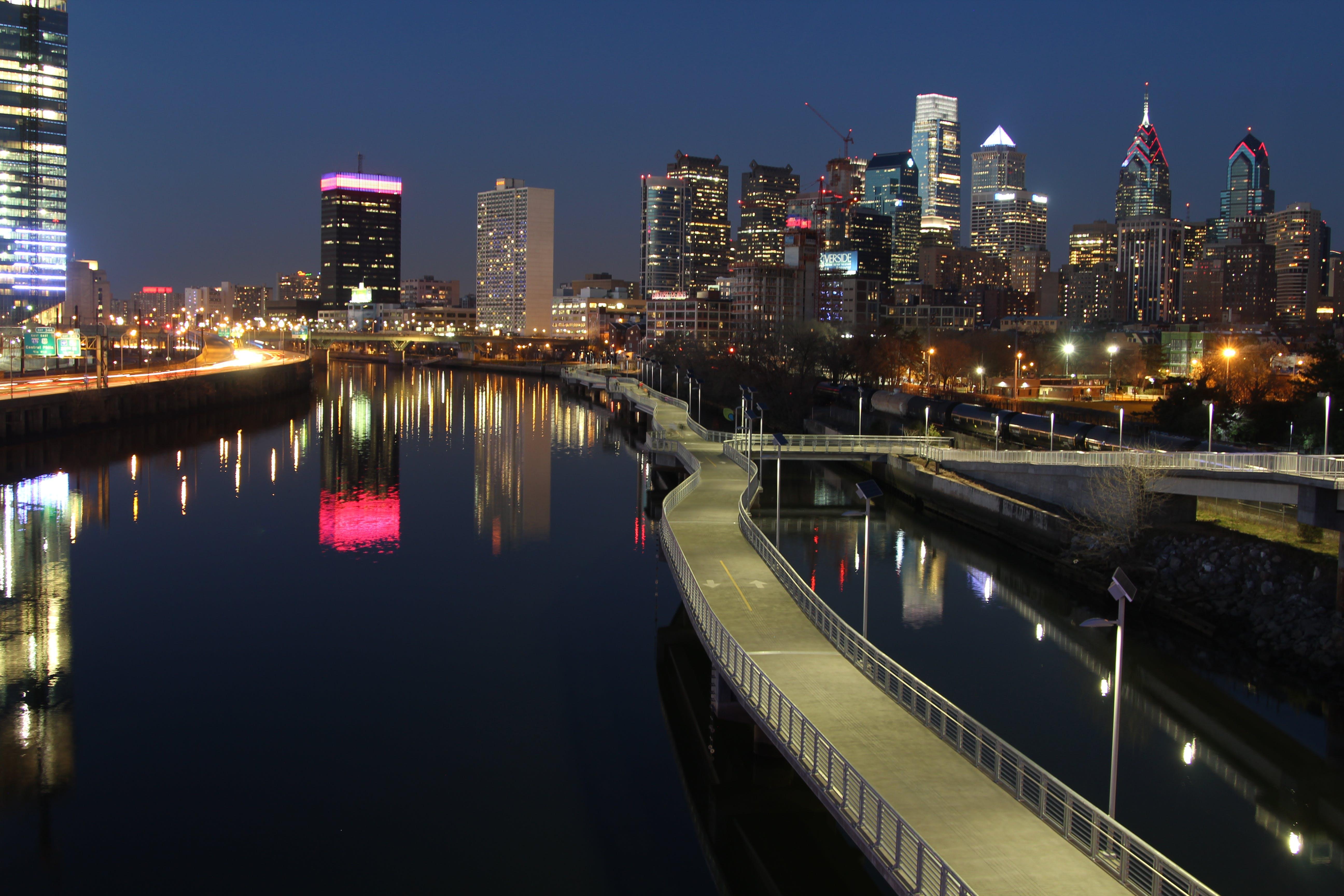 Free stock photo of city, clear sky, Philadelphia, philly