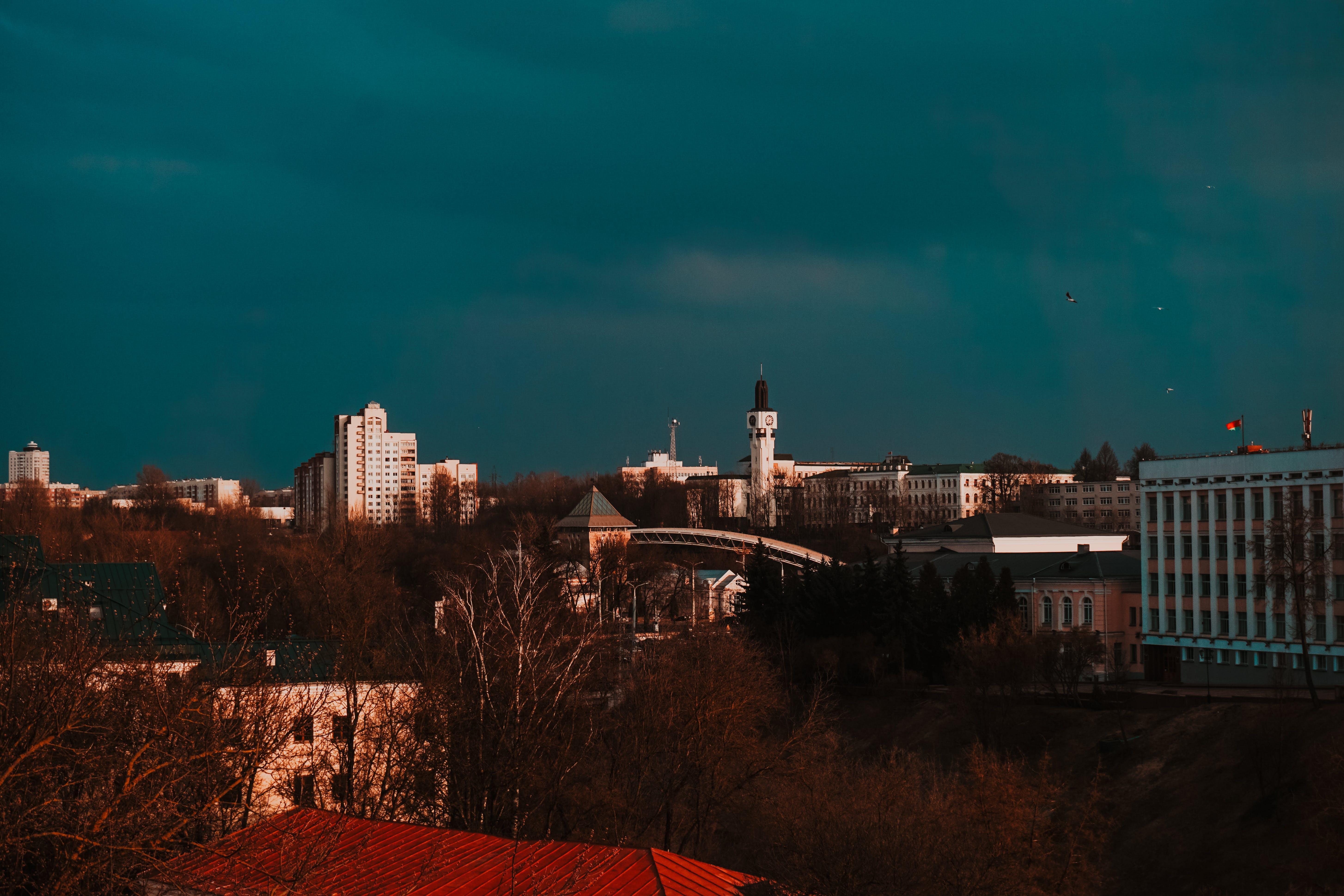 公園, 城市, 城鎮, 大氣的晚上 的 免費圖庫相片
