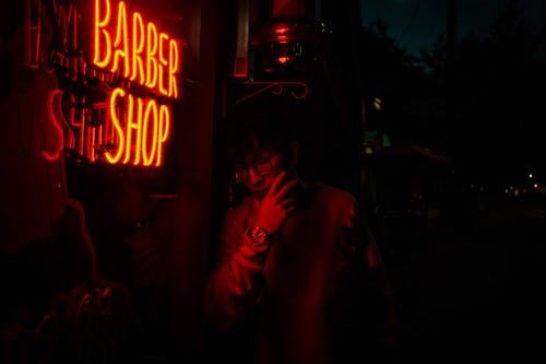 Barber Shop Neon Light Signage