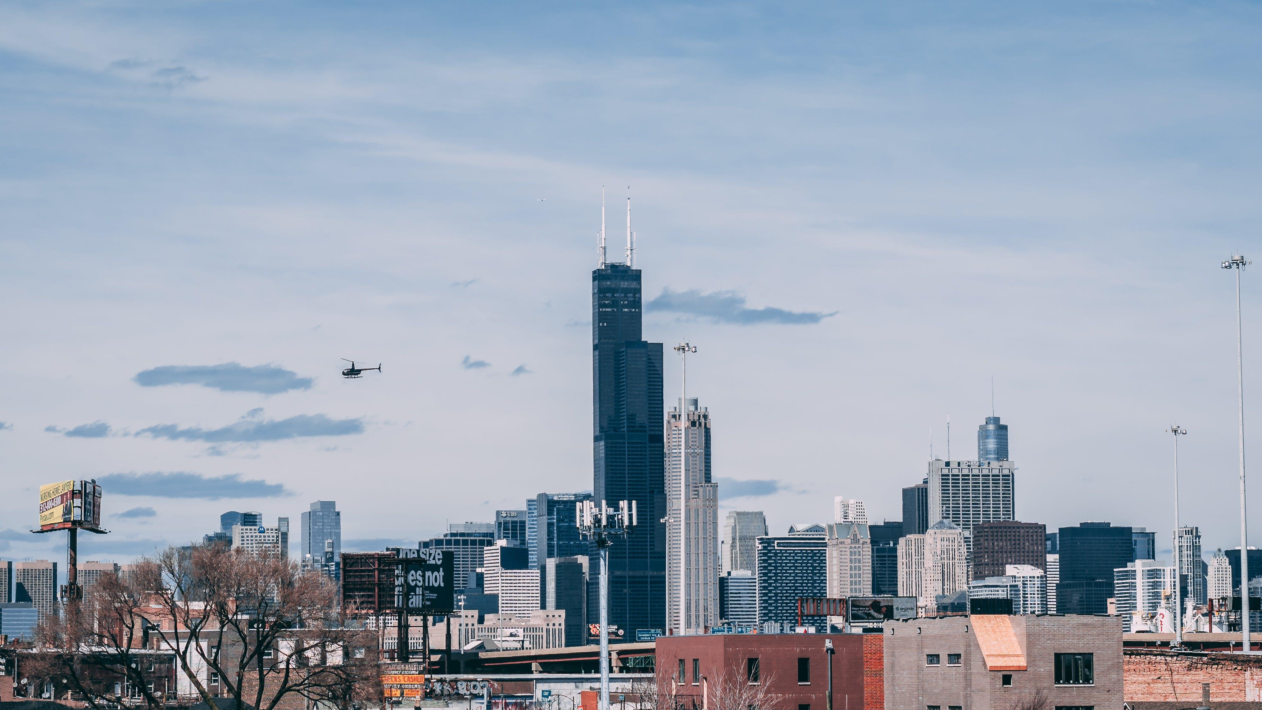 Kostenloses Stock Foto zu architektur, gebäude, innenstadt, skyline