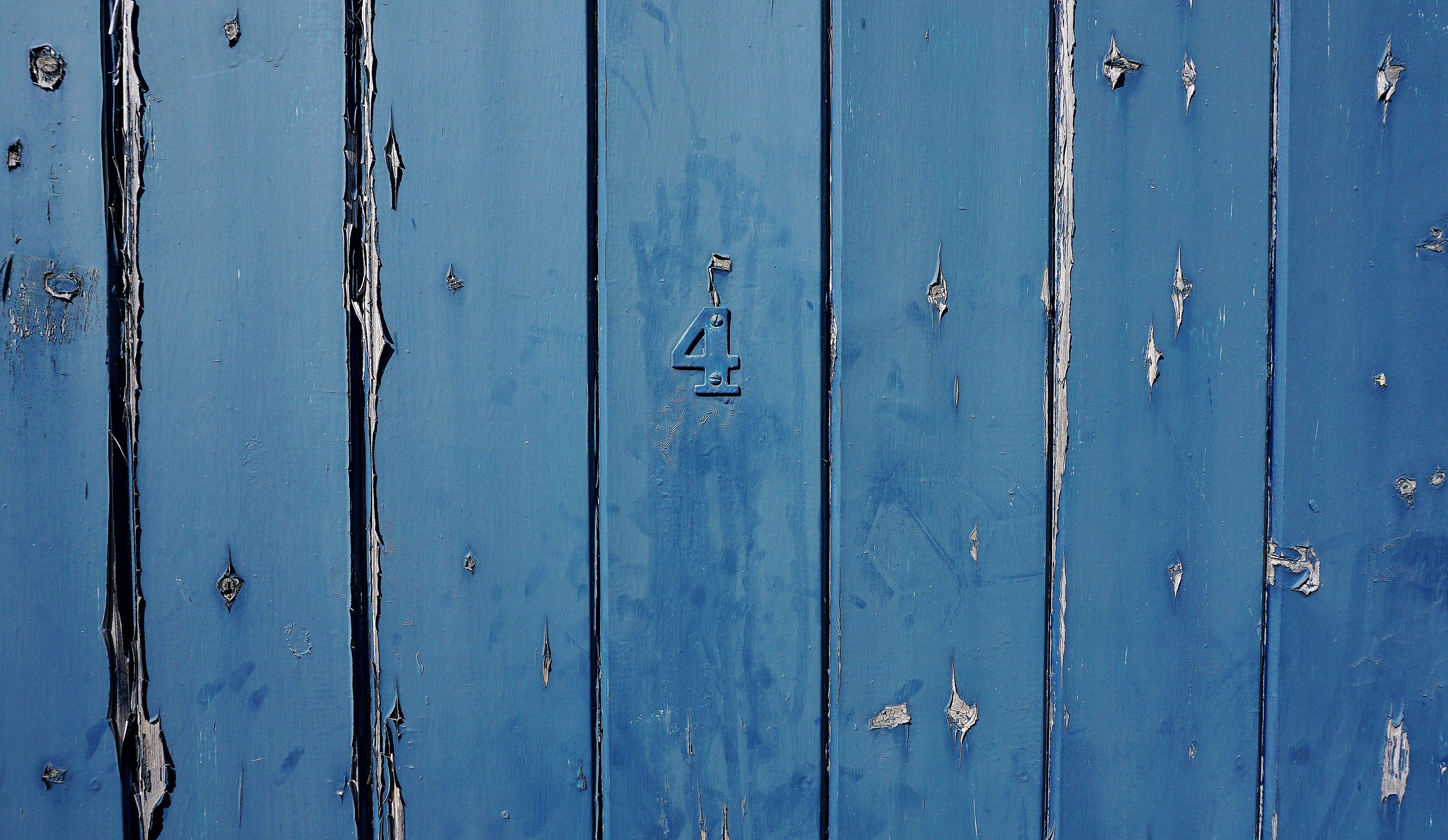 Kostenloses Stock Foto zu blau, eingang, holz, hölzern