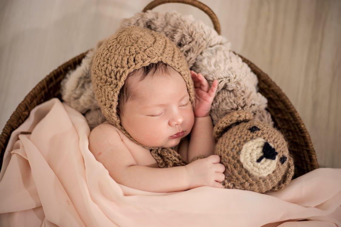Photos gratuites de adorable, bébé, couverture