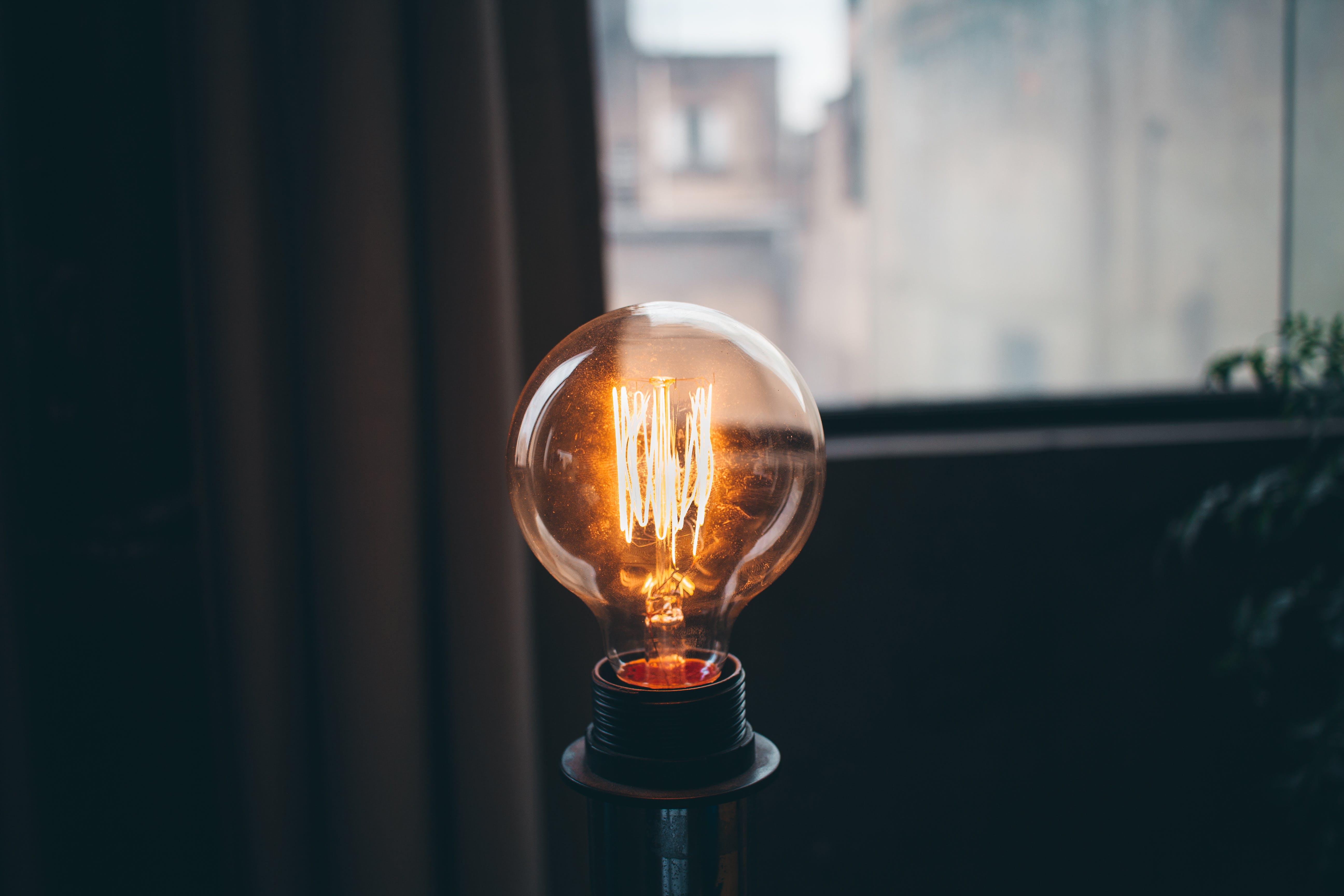 Kostnadsfri bild av elektricitet, energi, glödlampa, lampa