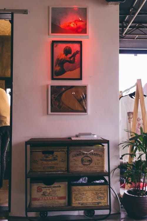Fotos de stock gratuitas de adentro, armario, arquitectura, Arte