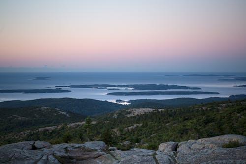シースケープ, 夏, 夜明け, 太陽の無料の写真素材