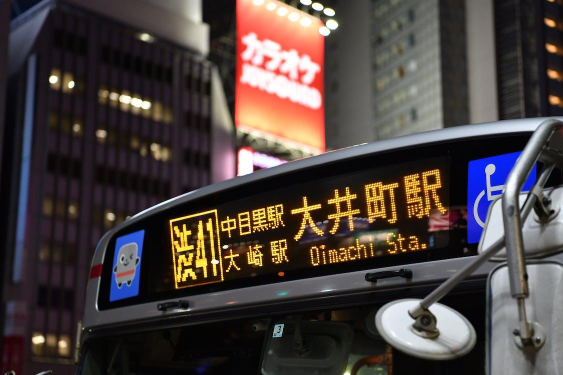 Oimachi Sta. Signage