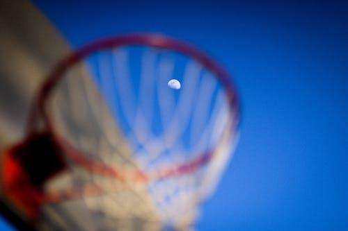 Fotos de stock gratuitas de anillo de baloncesto, azul, baloncesto, cesta de baloncesto