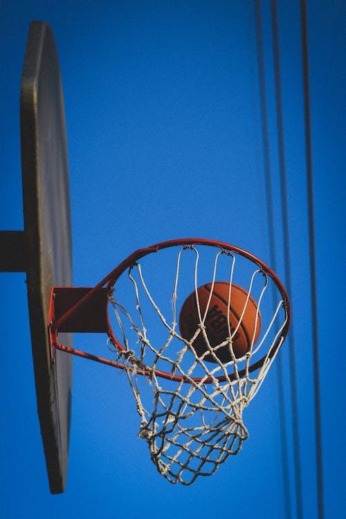 Fotos de stock gratuitas de anillo de baloncesto, Aro de baloncesto, aros, bola
