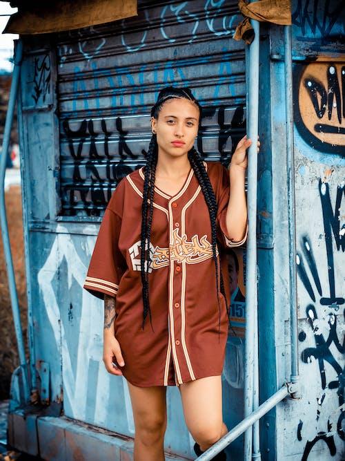 Kostenloses Stock Foto zu draußen, fashion, fotoshooting, frau