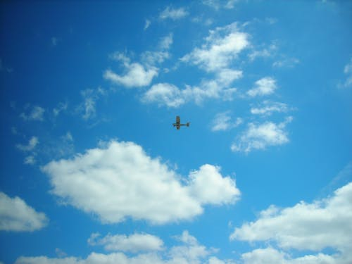 Ilmainen kuvapankkikuva tunnisteilla lento, lentokone, taivas