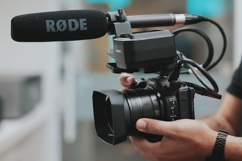 Foto profissional grátis de aparelhos, aproximação, atividade, câmera