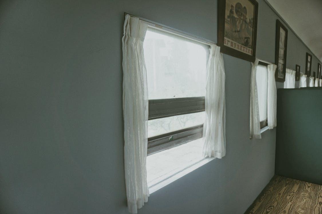 White Window Curtains