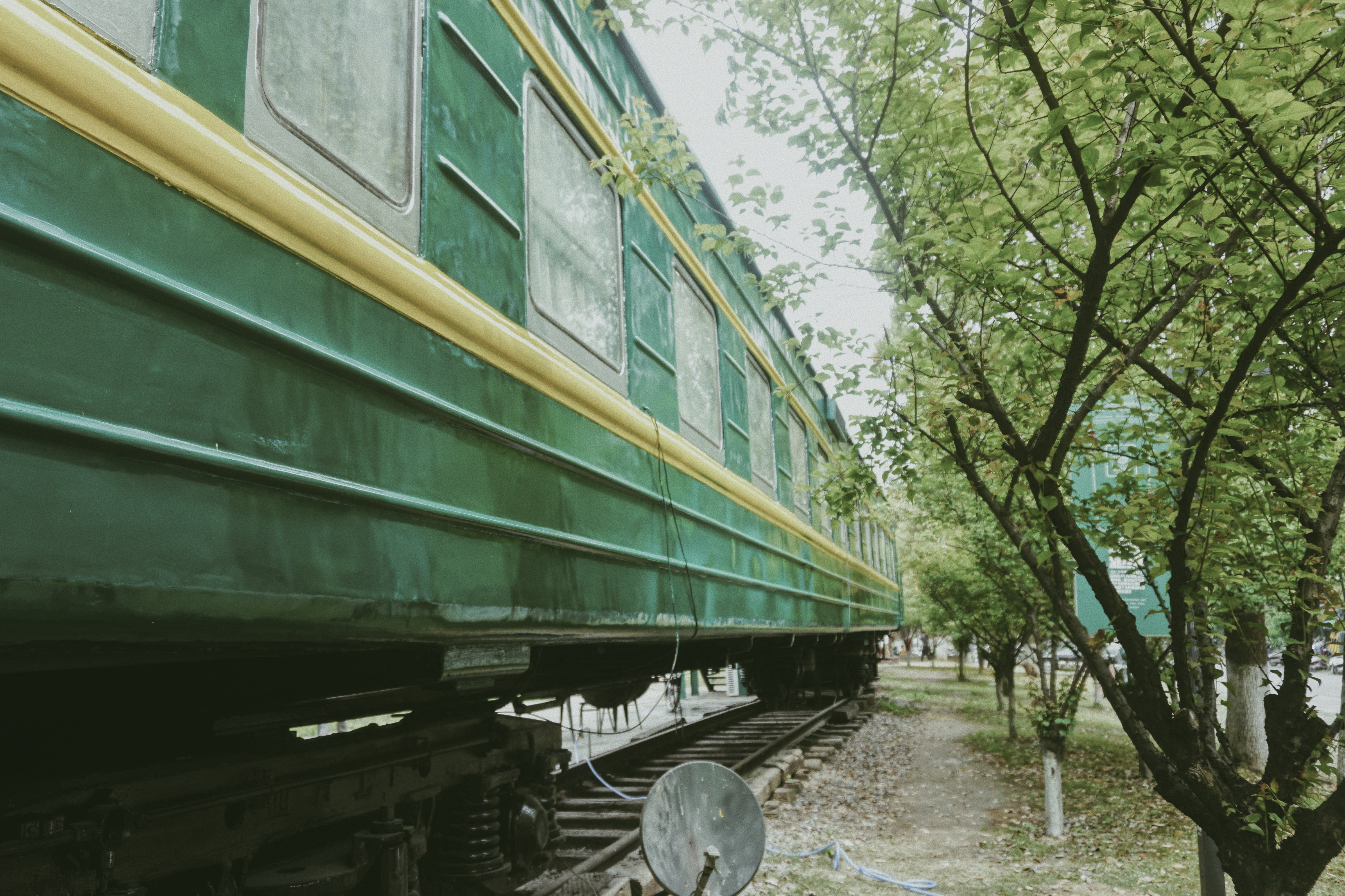 Green and Yellow Train