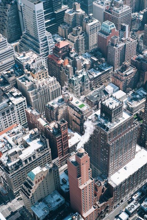 architektur, gebäude, hochhäuser