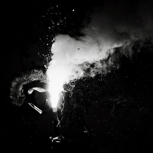 Foto d'estoc gratuïta de blanc i negre, boira, clareja, cobrir