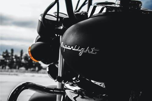 Foto d'estoc gratuïta de moto, negre, primer pla, vehicle