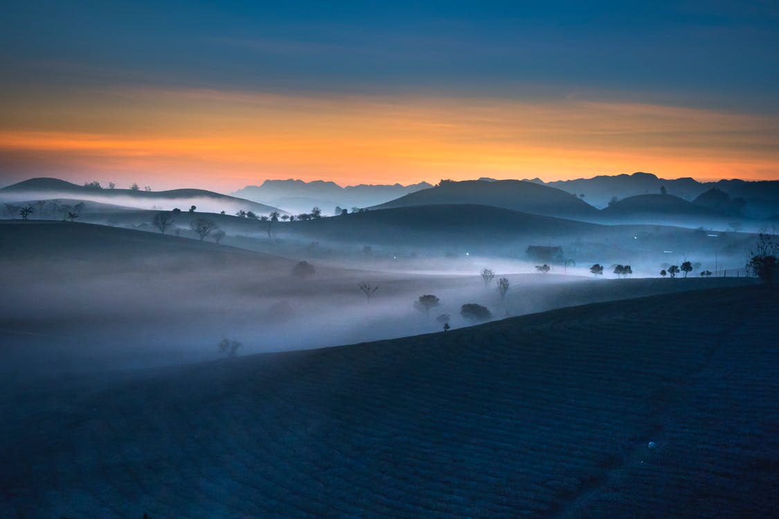 Landscape Photography of Hills