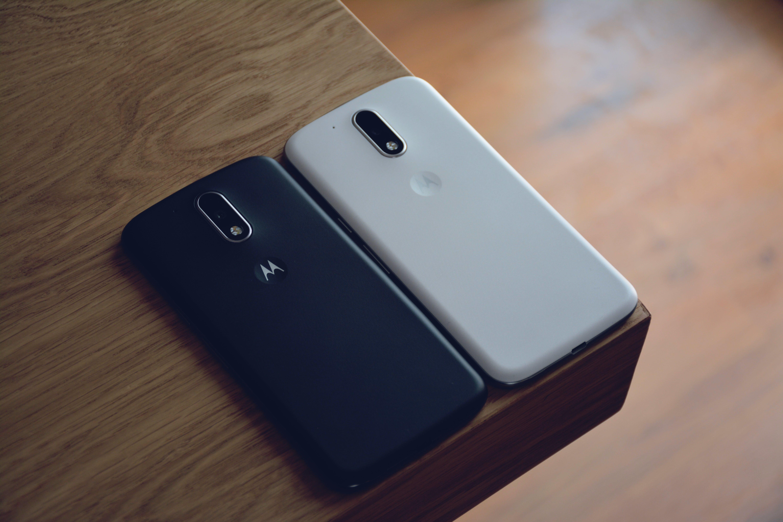 Black Motorola Smartphone