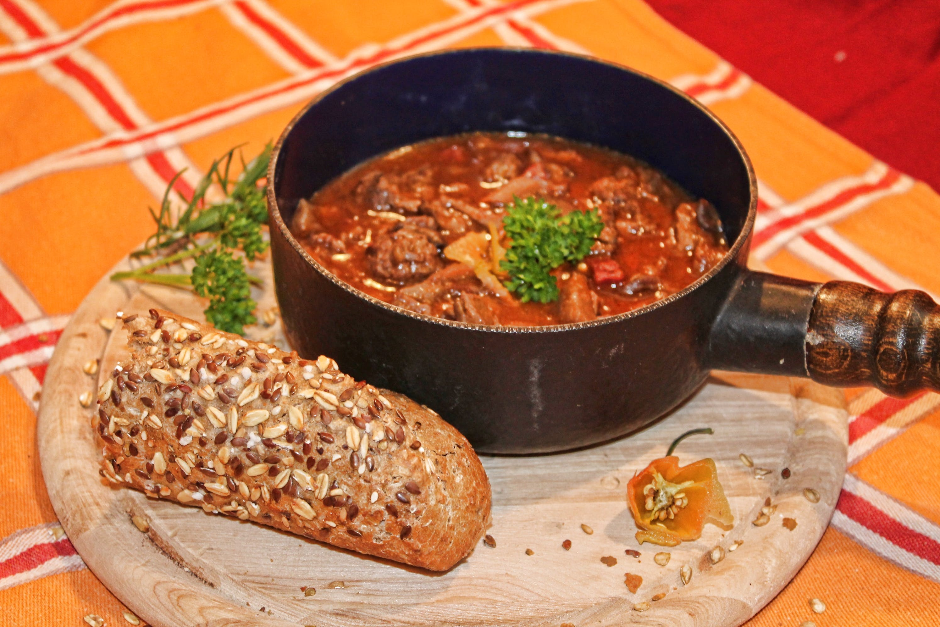 Free stock photo of beef, chilli, goulash, liver
