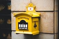 wall, vintage, mailbox